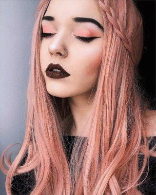 pink hair 24