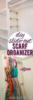scarf and belt organizer