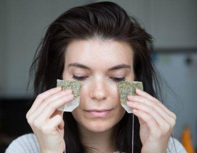 tea bags for eyes