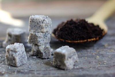 vanilla coffee sugar scrub cubes