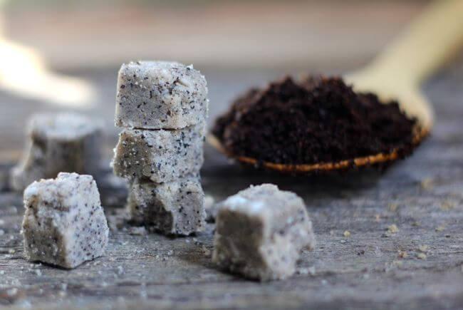3 Homemade Sugar Scrub Cubes