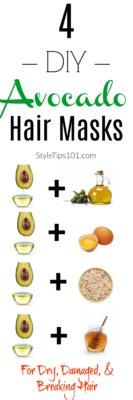 Avocado Hair Masks