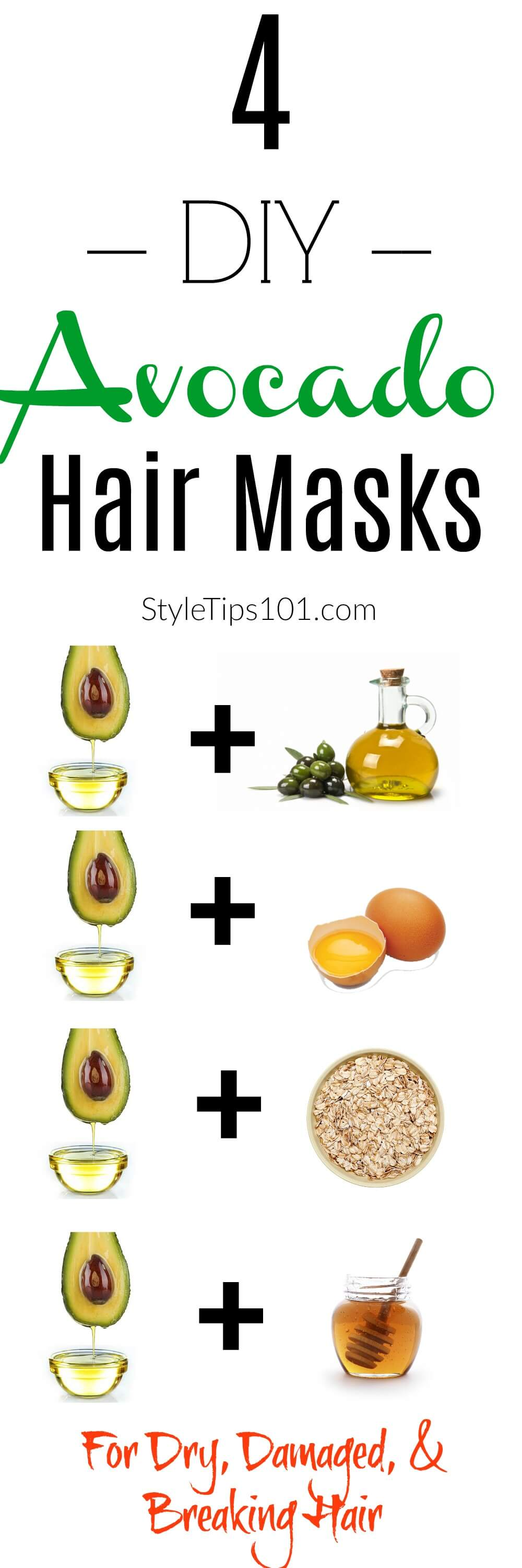 These avocado hair masks are for anyone who suffers from dry, over-processed, over-treated, and damaged hair.
