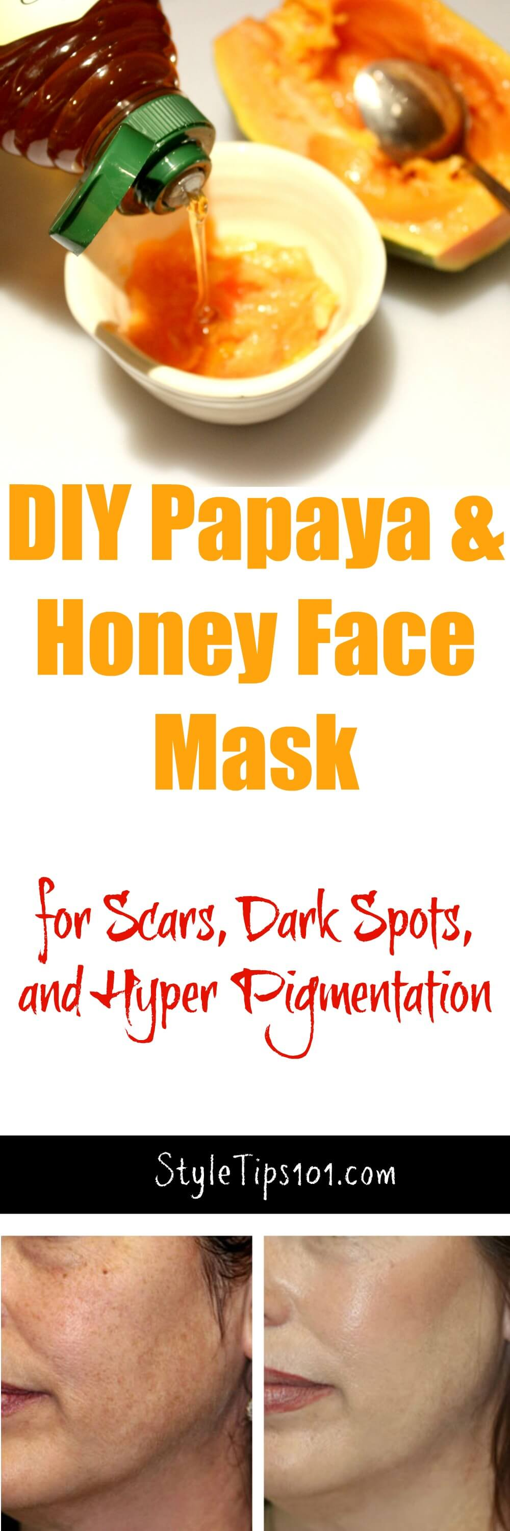 If you're looking to lighten and brighten your skin, look no further than this DIY lightening face mask with honey and papaya!