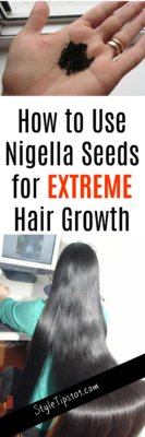 Nigella Seeds for Hair Growth