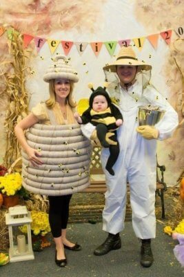 bee keepers family halloween costume