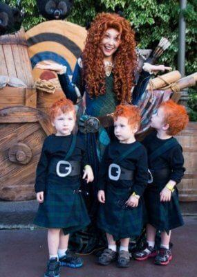 brave family halloween costume