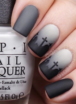 cemetery nails
