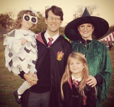 hogwarts family halloween costume