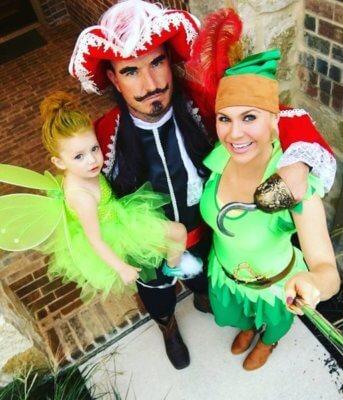 peter pan family halloween costume