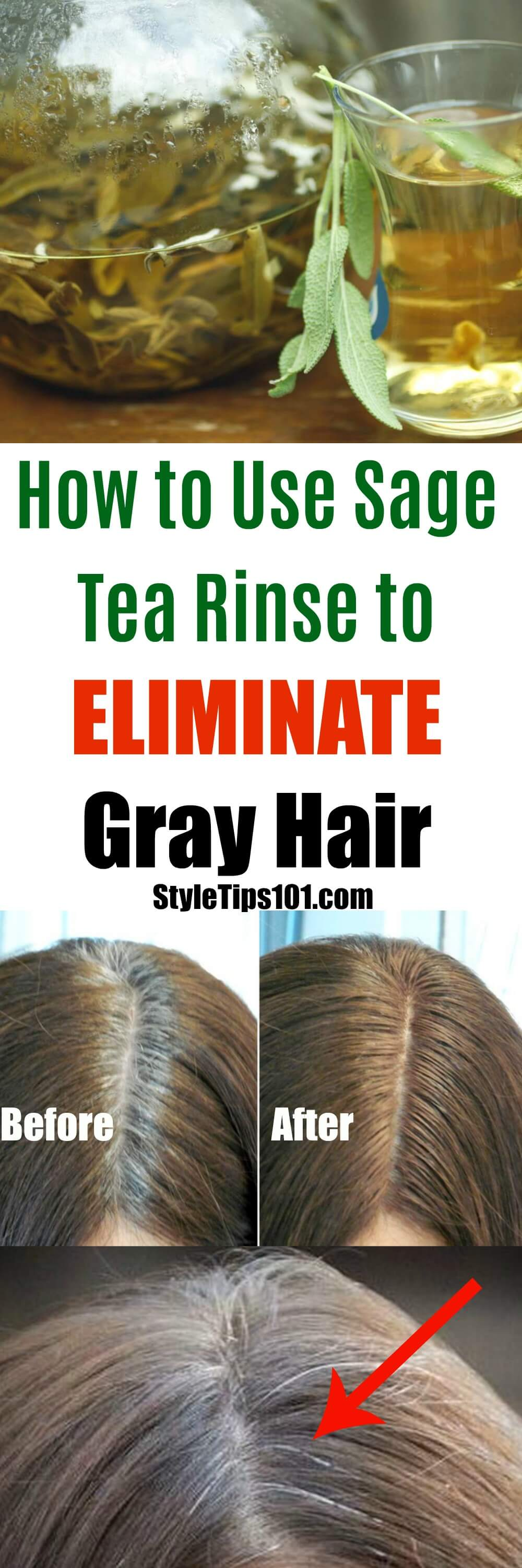 Have a few grays or a full head of them? We'll show you how to use sage for grey hair and you'll never go back to commercial dyes ever again!