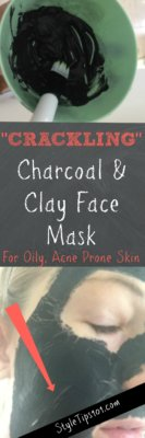 Charcoal and Clay Face Mask