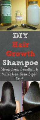 DIY Hair Growth Shampoo