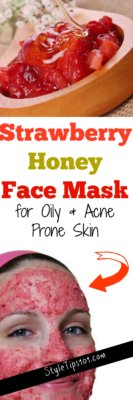 DIY Strawberry Honey Face Mask