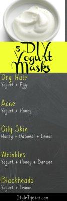 DIY Yogurt Masks