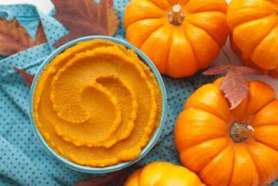pumpkin puree mask