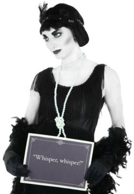 silent movie costume