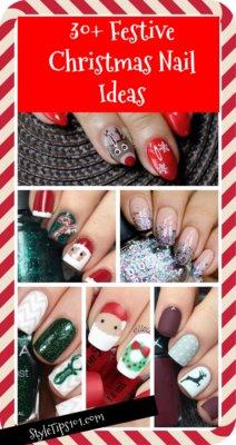 Festive Christmas Nail Ideas