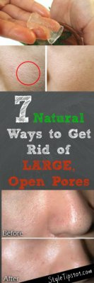 Get Rid of Open Pores