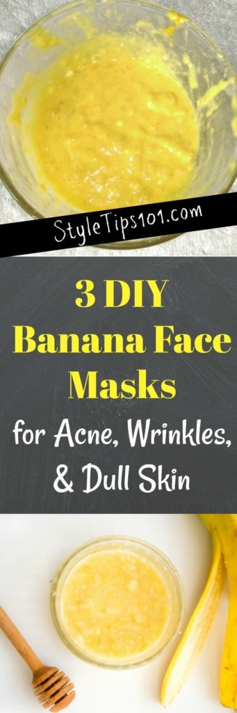 DIY Banana Face Masks