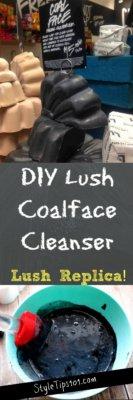 DIY Lush Coalface Cleanser