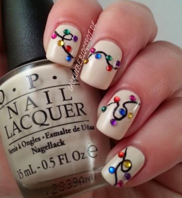 30 christmas nail designs you'll fall in love with