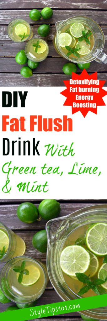 DIY Fat Flush Drink