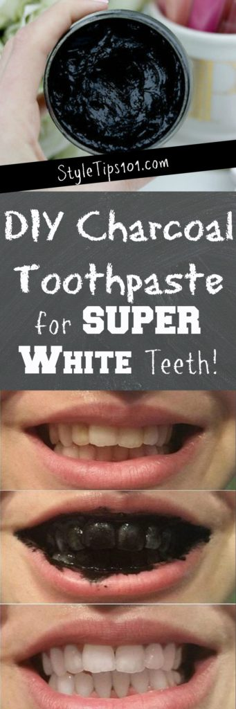 How to Make Charcoal Toothpaste