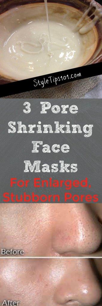 Pore Shrinking Face Masks