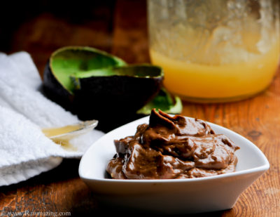 avocado cocoa face mask