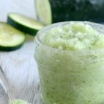 DIY Cucumber Mint Scrub for Soft, Flawless Skin