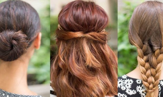 7 Easy Hairstyles for the Lazy Girl