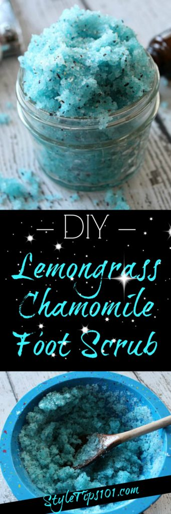 Chamomile DIY Foot Scrub