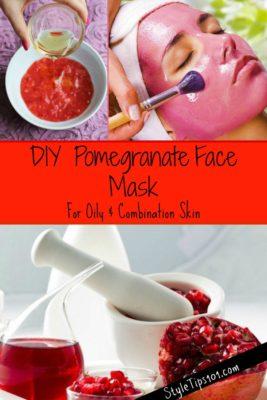 DIY Pomegranate Face Mask