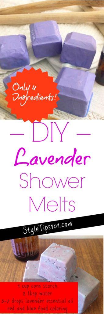 Homemade Shower Melts