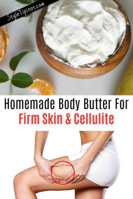Homemade Firming Body Butter