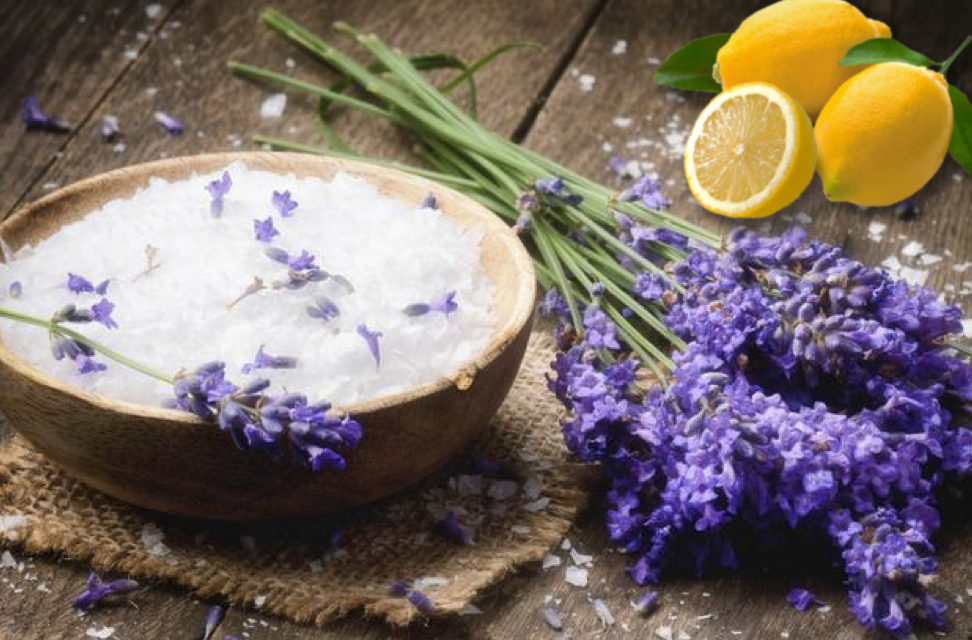 DIY Lavender Lemon Scrub Recipe