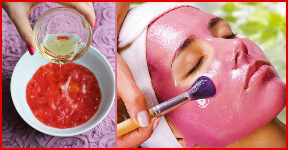 DIY Pomegranate Face Mask for Oily & Combination Skin