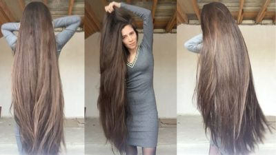 thick long hair