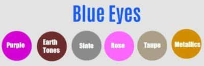 blue eyes eyeshadow match