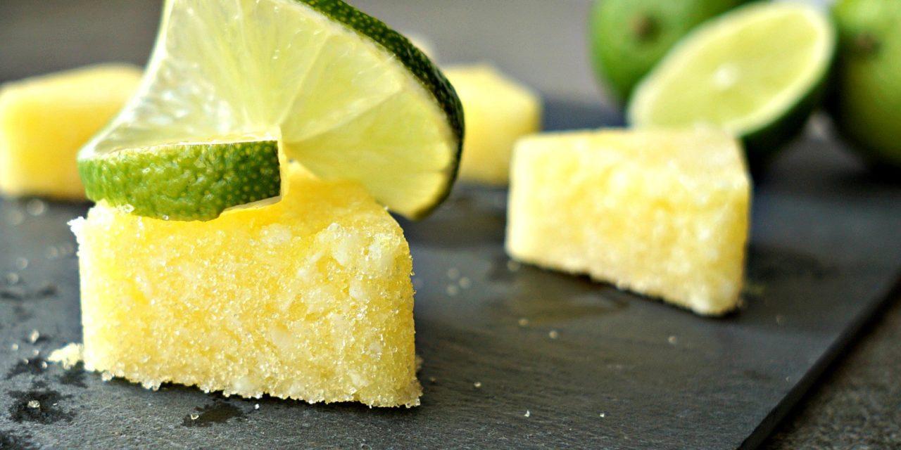 Homemade Key Lime Pie Sugar Scrub Cubes Recipe