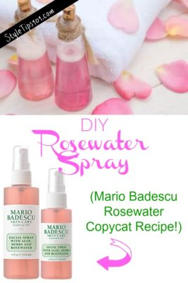 how to make rosewater cream