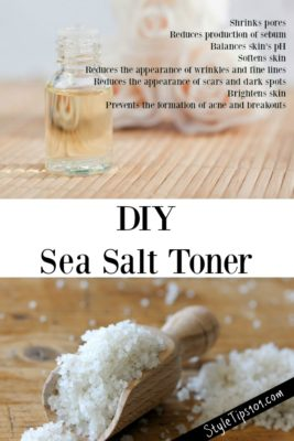 DIY Salt Toner