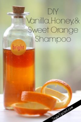 Homemade Shampoo Recipe