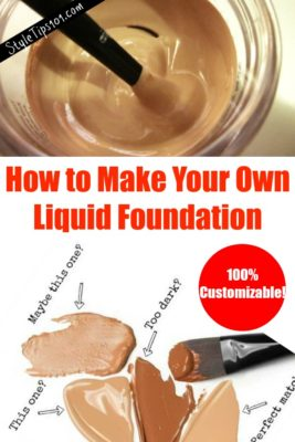 How to Make Your Own Foundation