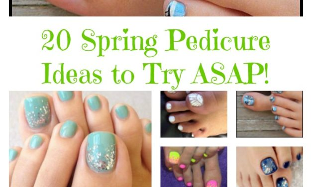 20 Spring Pedicures You'll Wanna Copy ASAP!