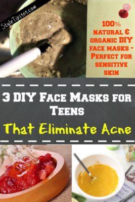 diy face masks for teens