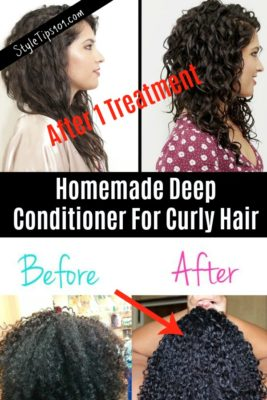 homemade deep conditioner for curly hair