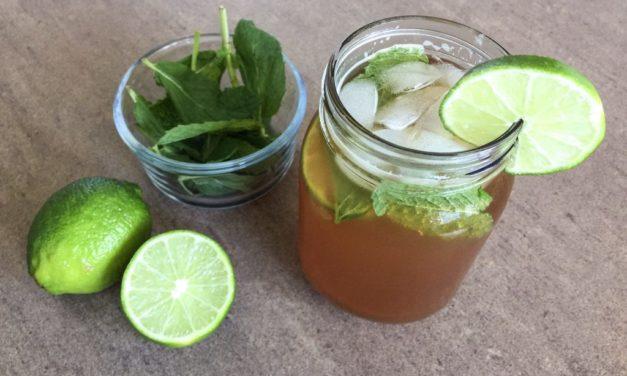 Mint & Lime Fat Burning Tea Recipe