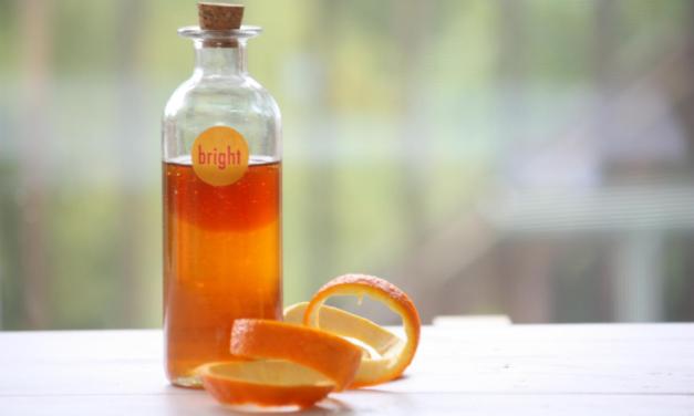 Homemade Shampoo Recipe With Orange and Vanilla